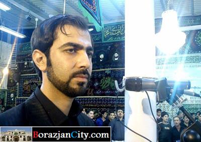 ایمان میرشکاری، نوحه خوان بوشهری